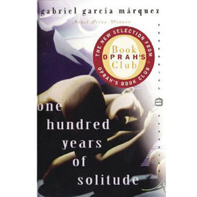 One hundred years of solitude worn pages and ink